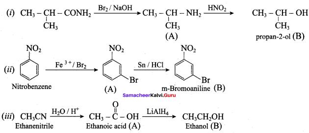 Samacheer Kalvi 12th Chemistry Solutions Chapter 13 Organic Nitrogen Compounds-167