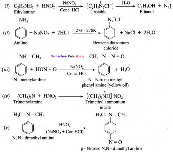 Samacheer Kalvi 12th Chemistry Solutions Chapter 13 Organic Nitrogen Compounds-175