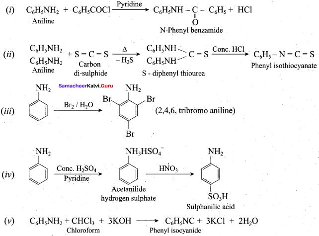 Samacheer Kalvi 12th Chemistry Solutions Chapter 13 Organic Nitrogen Compounds-178
