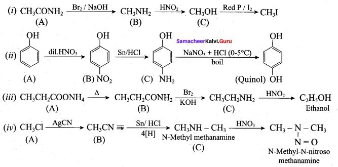 Samacheer Kalvi 12th Chemistry Solutions Chapter 13 Organic Nitrogen Compounds-192