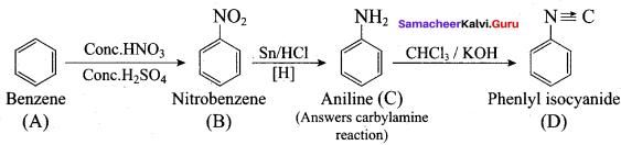 Samacheer Kalvi 12th Chemistry Solutions Chapter 13 Organic Nitrogen Compounds-193