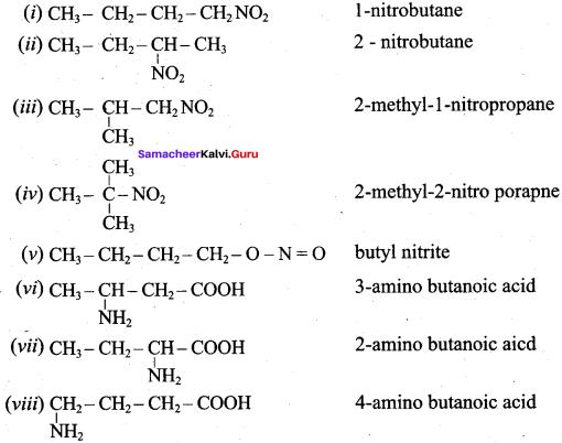 Samacheer Kalvi 12th Chemistry Solutions Chapter 13 Organic Nitrogen Compounds-114