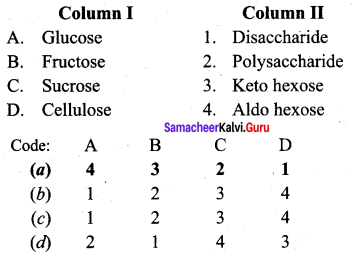 Samacheer Kalvi 12th Chemistry Solutions Chapter 14 Biomolecules-15