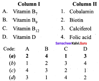 Samacheer Kalvi 12th Chemistry Solutions Chapter 14 Biomolecules-27