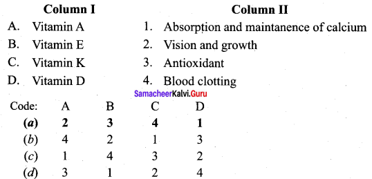 Samacheer Kalvi 12th Chemistry Solutions Chapter 14 Biomolecules-28