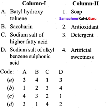 Samacheer Kalvi 12th Chemistry Solutions Chapter 15 Chemistry in Everyday Life-23