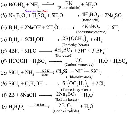 Samacheer Kalvi 12th Chemistry Solutions Chapter 2 p-Block Elements - I img-16