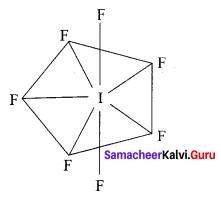 12th Chemistry Chapter 3 Book Back Answers Samacheer Kalvi