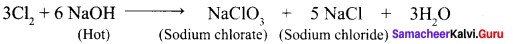 Samacheer Kalvi Class 12 Chemistry Solutions Chapter 3