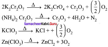 12th Chemistry Unit 4 Book Back Answers Samacheer Kalvi