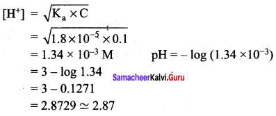 Samacheer Kalvi 12th Chemistry Solutions Chapter 8 Ionic Equilibrium-78