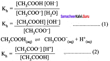 Samacheer Kalvi 12th Chemistry Solutions Chapter 8 Ionic Equilibrium-143