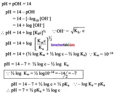 Samacheer Kalvi 12th Chemistry Solutions Chapter 8 Ionic Equilibrium-145