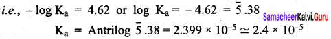 Samacheer Kalvi 12th Chemistry Solutions Chapter 8 Ionic Equilibrium-151