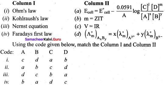 Samacheer Kalvi 12th Chemistry Solutions Chapter 9 Electro Chemistry-37