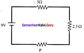 Current Electricity Class 12 State Board Samacheer Kalvi