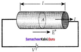 Current Electricity Short Notes Samacheer Kalvi