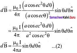 Samacheer Kalvi 12th Physics Solutions Chapter 3 Magnetism and Magnetic Effects of Electric Current-18