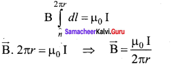 Samacheer Kalvi 12th Physics Solutions Chapter 3 Magnetism and Magnetic Effects of Electric Current-44
