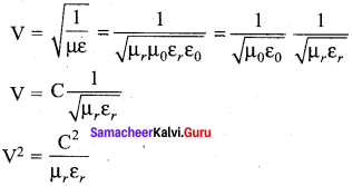 Samacheer Kalvi 12th Physics Solutions Chapter 5 Electromagnetic Waves-22