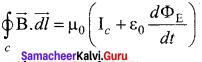 Physics Chapter 5 Class 12 Samacheer Kalvi
