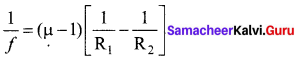 Samacheer Kalvi 12th Physics Solutions Chapter 6 Optics-10