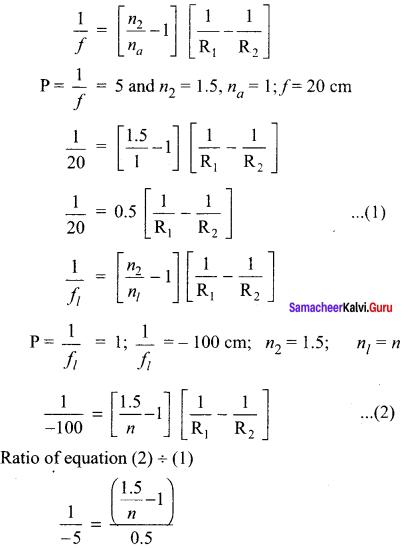 Samacheer Kalvi 12th Physics Solutions Chapter 6 Optics-47