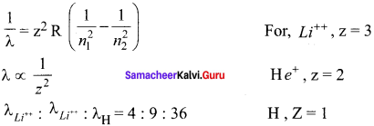 Samacheer Kalvi 12th Physics Solutions Chapter 8 Atomic and Nuclear Physics-1