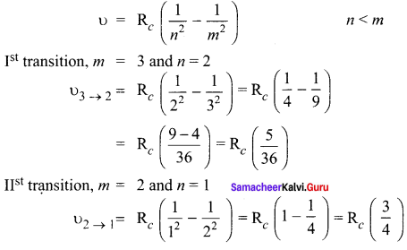 Samacheer Kalvi 12th Physics Solutions Chapter 8 Atomic and Nuclear Physics-25