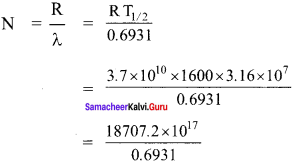 Samacheer Kalvi 12th Physics Solutions Chapter 8 Atomic and Nuclear Physics-34