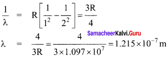 Samacheer Kalvi 12th Physics Solutions Chapter 8 Atomic and Nuclear Physics-37