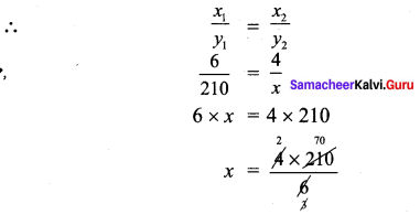Samacheer Kalvi 7th Maths Solutions Term 1 Chapter 4 Direct and Inverse Proportion Ex 4.3 21