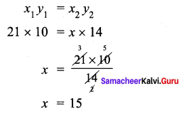 Samacheer Kalvi 7th Maths Solutions Term 1 Chapter 4 Direct and Inverse Proportion Ex 4.3 38