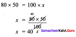 Samacheer Kalvi 7th Maths Solutions Term 1 Chapter 4 Direct and Inverse Proportion Ex 4.3 40
