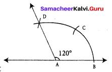 Samacheer Kalvi 7th Maths Solutions Term 1 Chapter 5 Geometry Ex 5.5 2