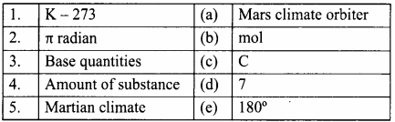 Samacheer Kalvi 8th Science Solutions Term 1 Chapter 1 Measurement 7