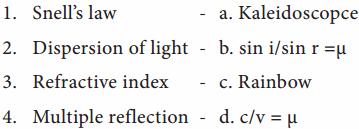 8th Std Science Light Lesson Samacheer Kalvi