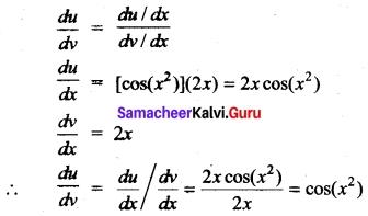 Tamil Nadu 11th Maths Model Question Paper 5 English Medium 5