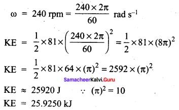 Tamil Nadu 11th Physics Previous Year Question Paper March 2019 English Medium Q 11