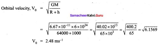 Tamil Nadu 11th Physics Previous Year Question Paper March 2019 English Medium Q 30