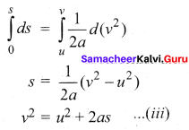 11th Physics Solutions Samacheer Kalvi