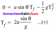 Samacheer Kalvi 11 Physics Solutions
