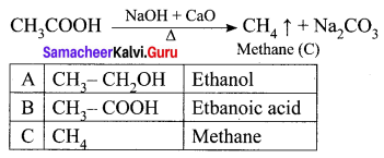 Samacheer Kalvi 10th Science Solutions Chapter 11 Carbon and its Compounds 24