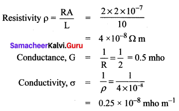 Electricity Class 10 Book Back Answers Samacheer Kalvi