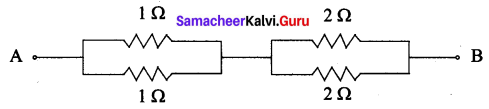 Class 10 Physics Electricity Textbook Solutions Samacheer Kalvi