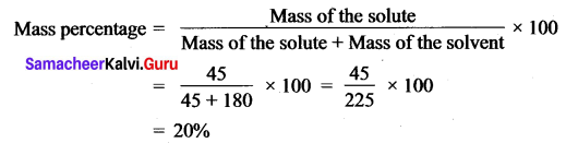 Class 10 Samacheer Science Solutions Chapter 9