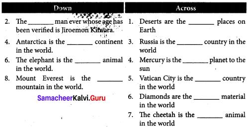 Adventures Of Don Quixote Book Back Answers Samacheer Kalvi