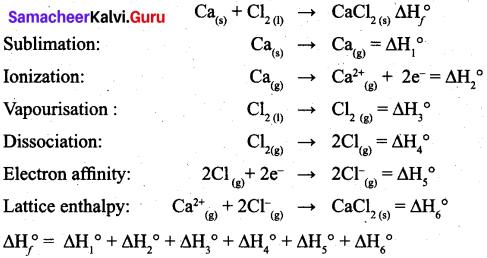 Tamil Nadu 11th Chemistry Model Question Paper 5 English Medium 9