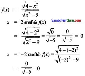 Samacheer Kalvi 11th Maths Solutions Chapter 1 கணங்கள், தொடர்புகள் மற்றும் சார்புகள் Ex 1.3 8