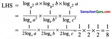 Samacheer Kalvi 11th Maths Solutions Chapter 2 அடிப்படை இயற்கணிதம் Ex 2.12 6